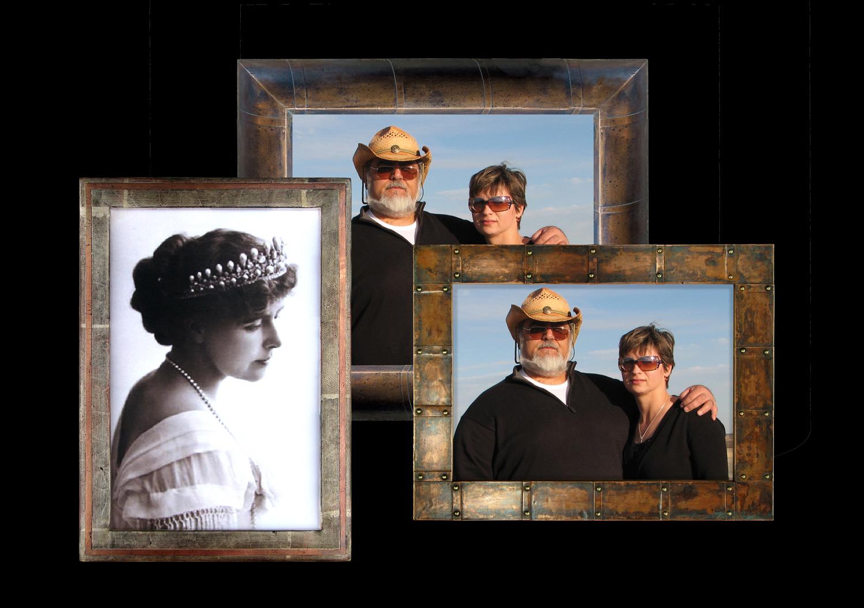 Silver Leafed Photo Frames Cornelroscaframes